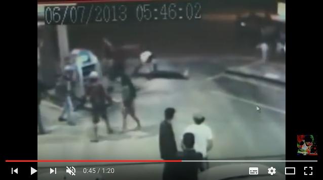 Ecco come un lottatore di MMA è stato messo Ko per strada