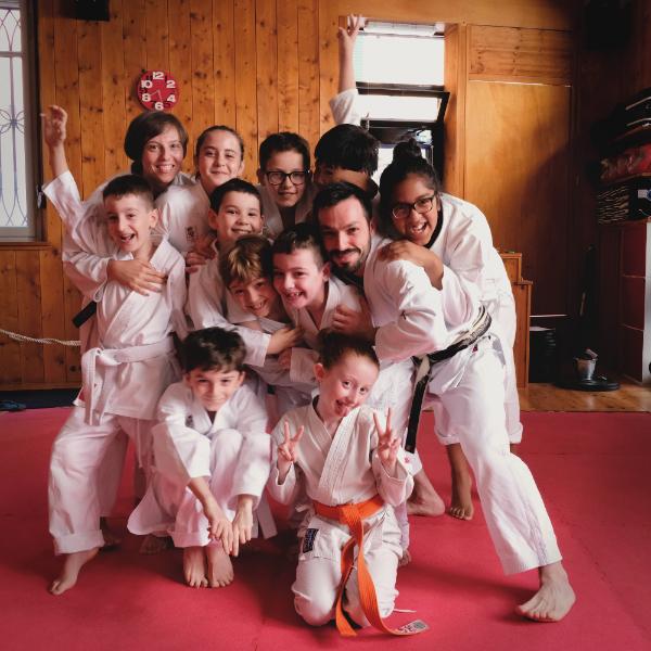 Il corso di karate bambini di Alessandria