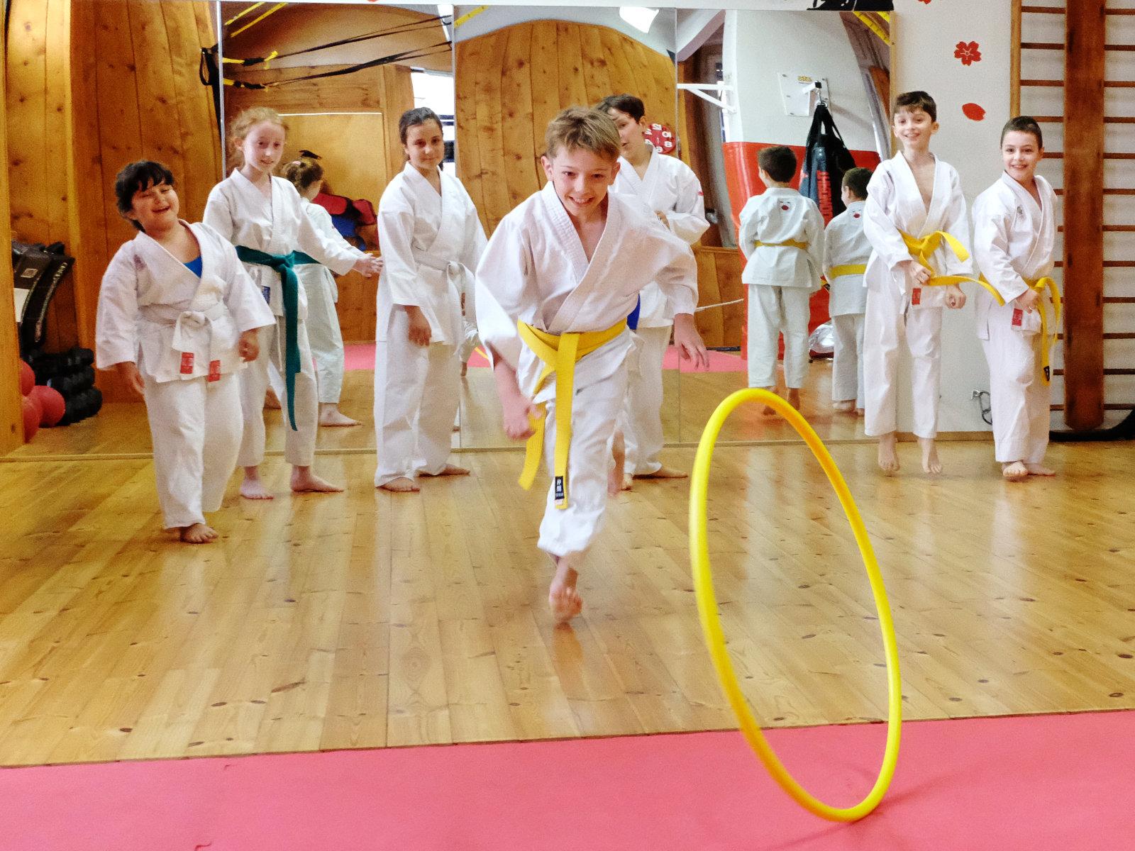 Karate per bambini: Capacità motorie