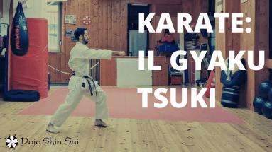 In questa video lezione di karate alleneremo il gyaku tsuki