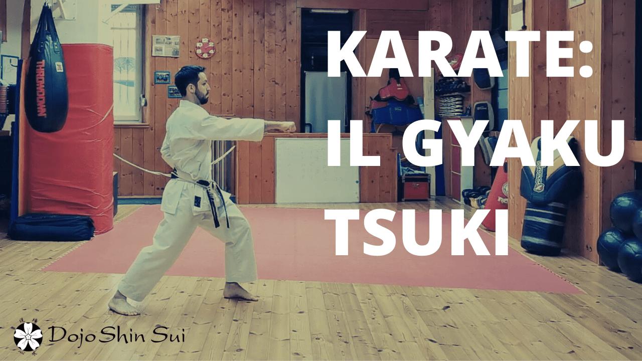 Lezioni di Karate: il Gayku Tsuki