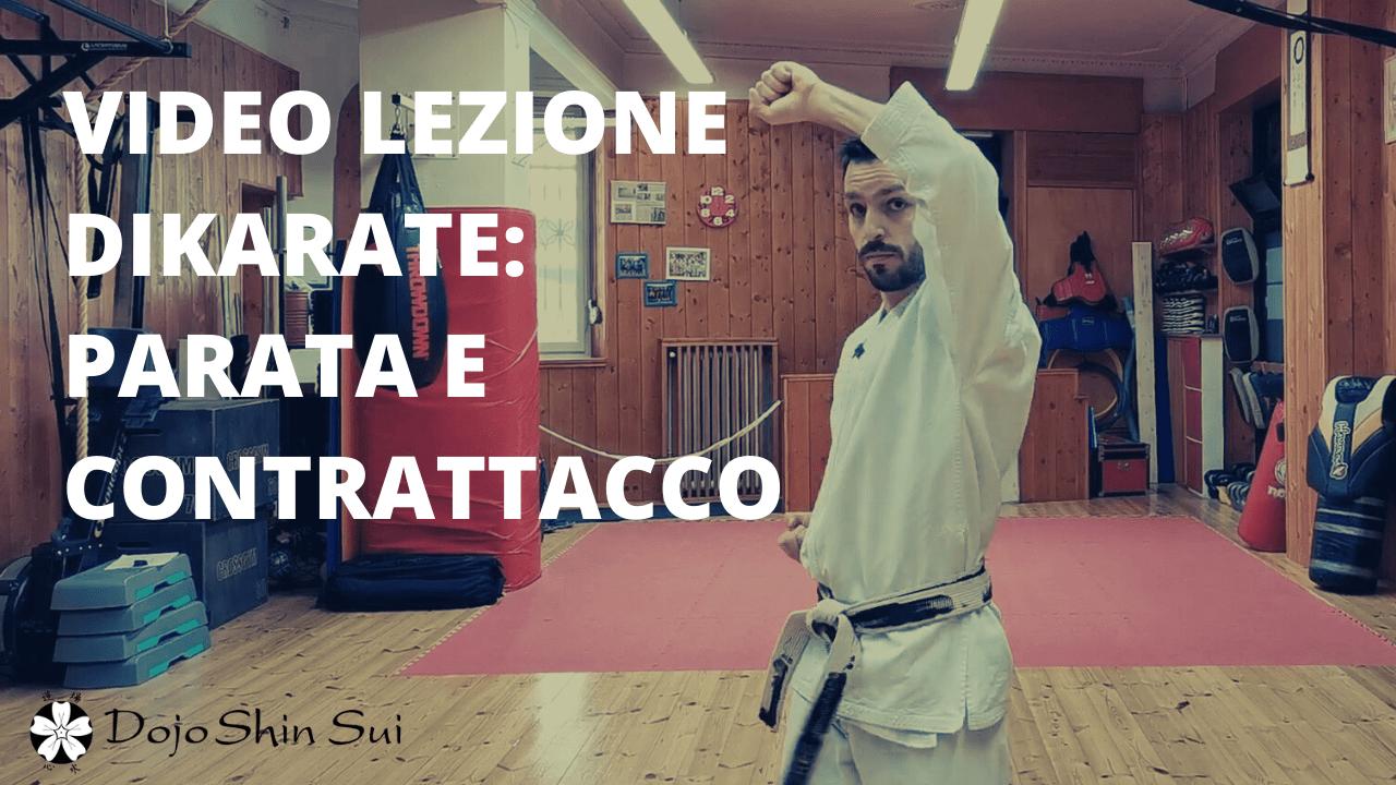 Lezioni di Karate: parata e contrattacco