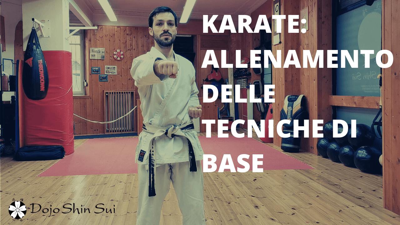 Lezioni di Karate: allenamento delle tecniche di base