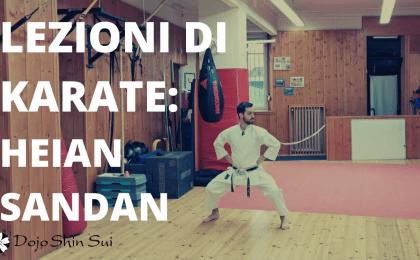 Nella lezione di oggi vederemo assieme il kata heian sandan, il terzo kata degli heian. Ma prima scopriremo cosa significa questa misteriosa parola...