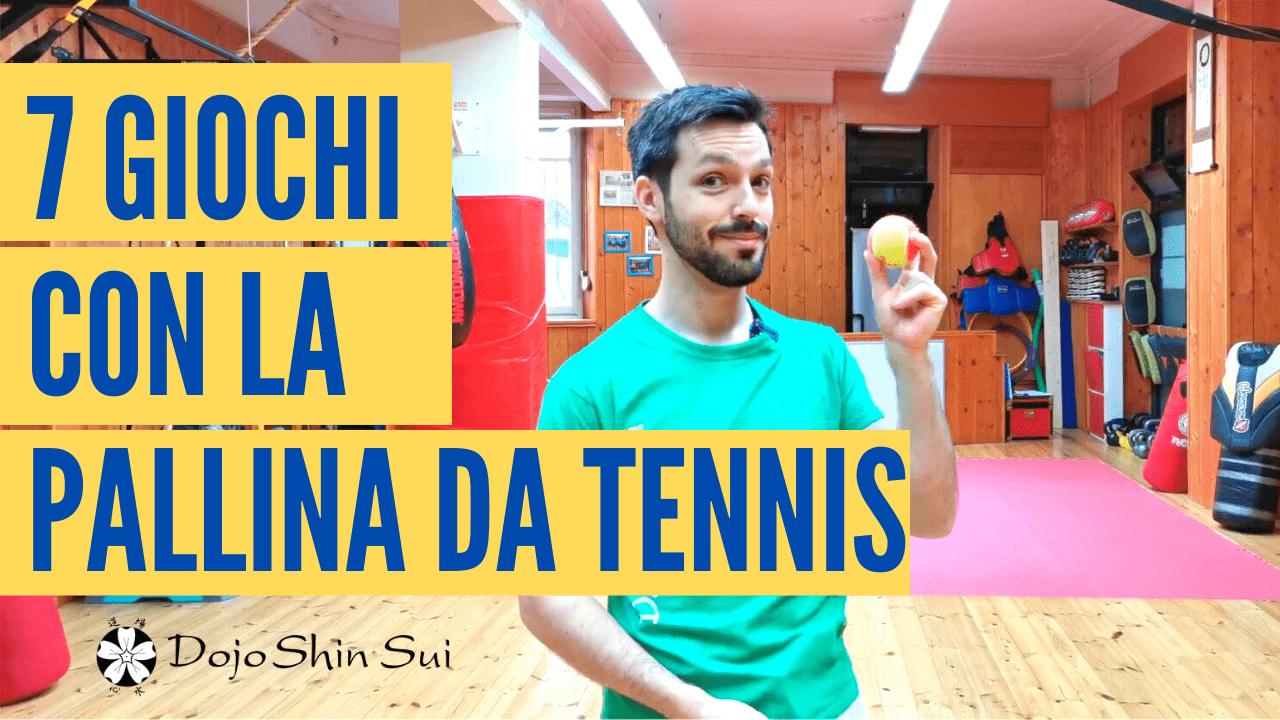 7 Giochi con la pallina da tennis