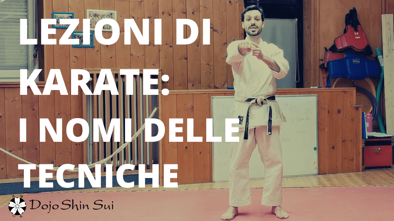 Lezioni di Karate: i nomi delle tecniche
