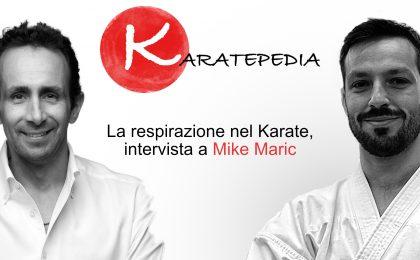 Assieme a Mike Maric (ex campione mondiale di apnea e breath coach) andremo alla scoperta dei segreti della respirazione nel karate