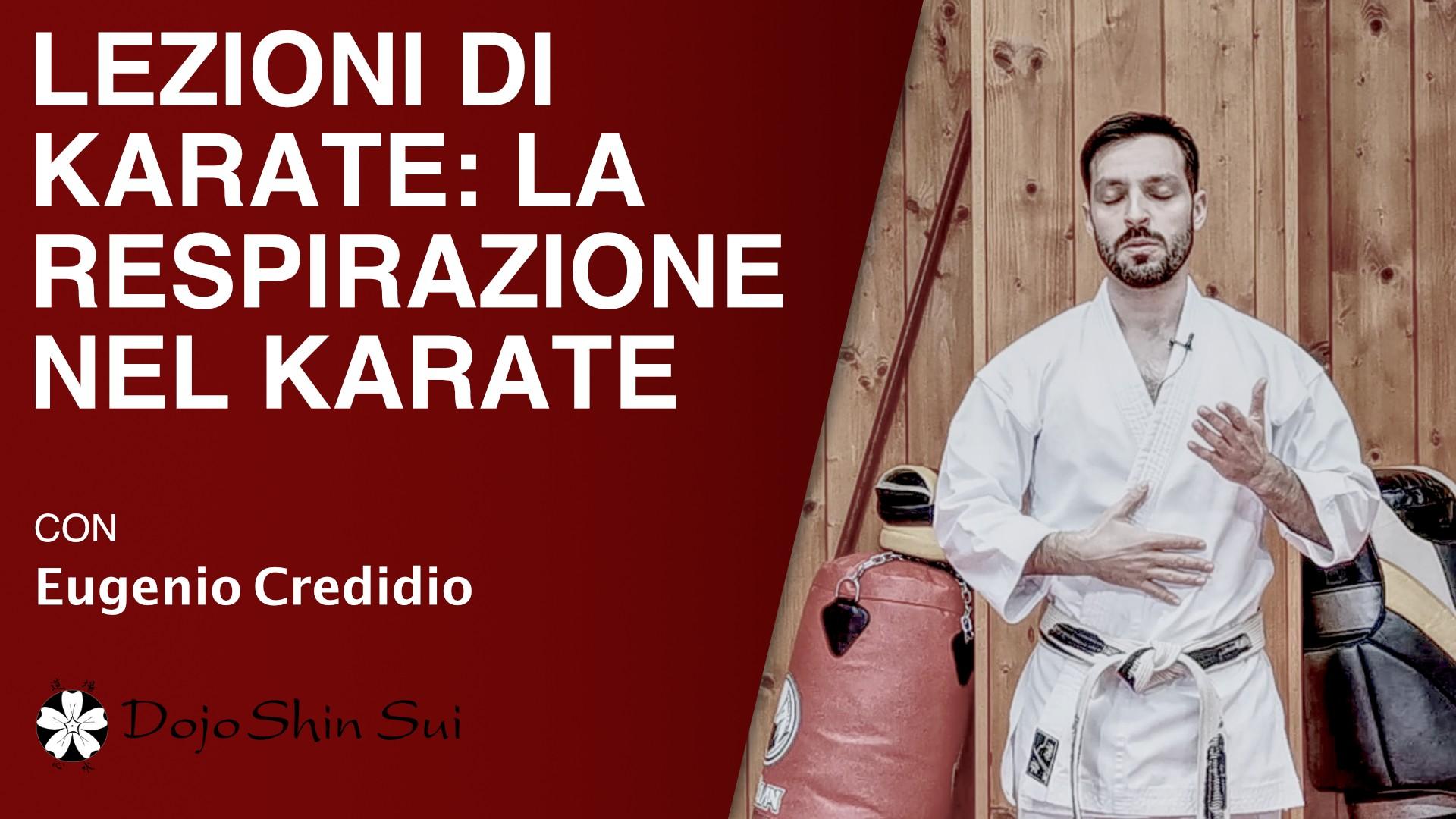 Lezioni di karate: la respirazione nel karate
