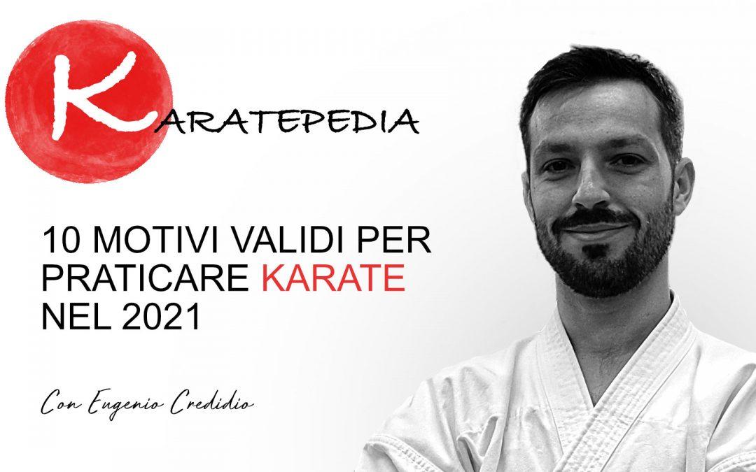 10 Motivi validi per praticare karate nel 2021