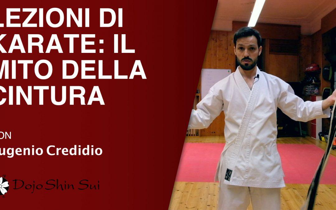 Lezioni di karate: il mito della cintura