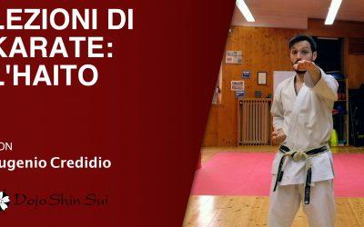 Lezioni di karate: l'haito