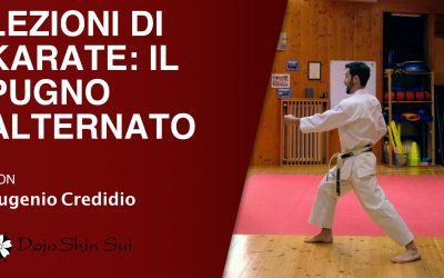 Lezioni di karate: il pugno alternato