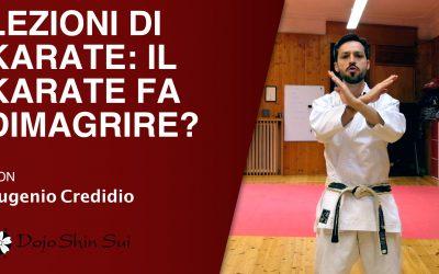 Lezioni di Karate: il karate fa dimagrire?