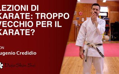 Lezioni di karate: troppo vecchio per il karate?