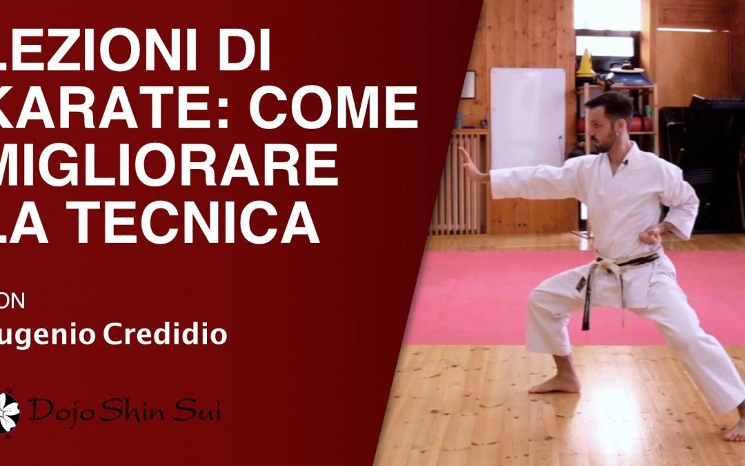 Lezioni di Karate: come migliorare la tecnica